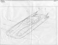 1955 Ghia Gilda Streamline-X form drawing