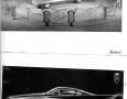 1955 Ghia Gilda Streamline-X drawing and showcase
