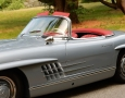 Silver Blue 1962 300SL Disc Brake Roadster 10