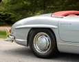 Silver Blue 1962 300SL Disc Brake Roadster 14