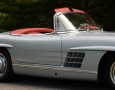 Silver Blue 1962 300SL Disc Brake Roadster 15