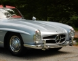 Silver Blue 1962 300SL Disc Brake Roadster 16