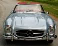 Silver Blue 1962 300SL Disc Brake Roadster 17