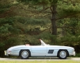 Silver Blue 1962 300SL Disc Brake Roadster 2