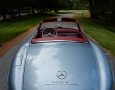 Silver Blue 1962 300SL Disc Brake Roadster 28