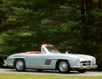 Silver Blue 1962 300SL Disc Brake Roadster 3