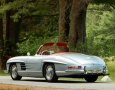Silver Blue 1962 300SL Disc Brake Roadster 5