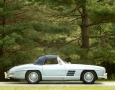 Silver Blue 1962 300SL Disc Brake Roadster 57