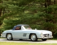Silver Blue 1962 300SL Disc Brake Roadster 58