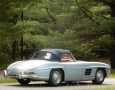 Silver Blue 1962 300SL Disc Brake Roadster 59