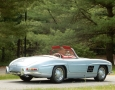 Silver Blue 1962 300SL Disc Brake Roadster 6