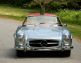 Silver Blue 1962 300SL Disc Brake Roadster 7
