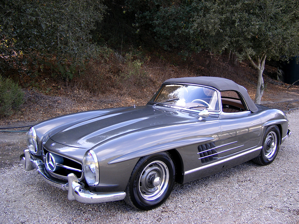 sold 1957 mercedes benz 300sl roadster scott grundfor. Black Bedroom Furniture Sets. Home Design Ideas