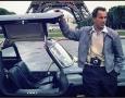 David Douglas Duncan with his 300SL in Paris
