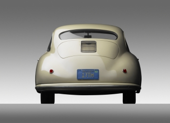 1949 Porsche 356-2 Gmund Coupe - rear