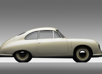1949 Porsche 356-2 Gmund Coupe - side