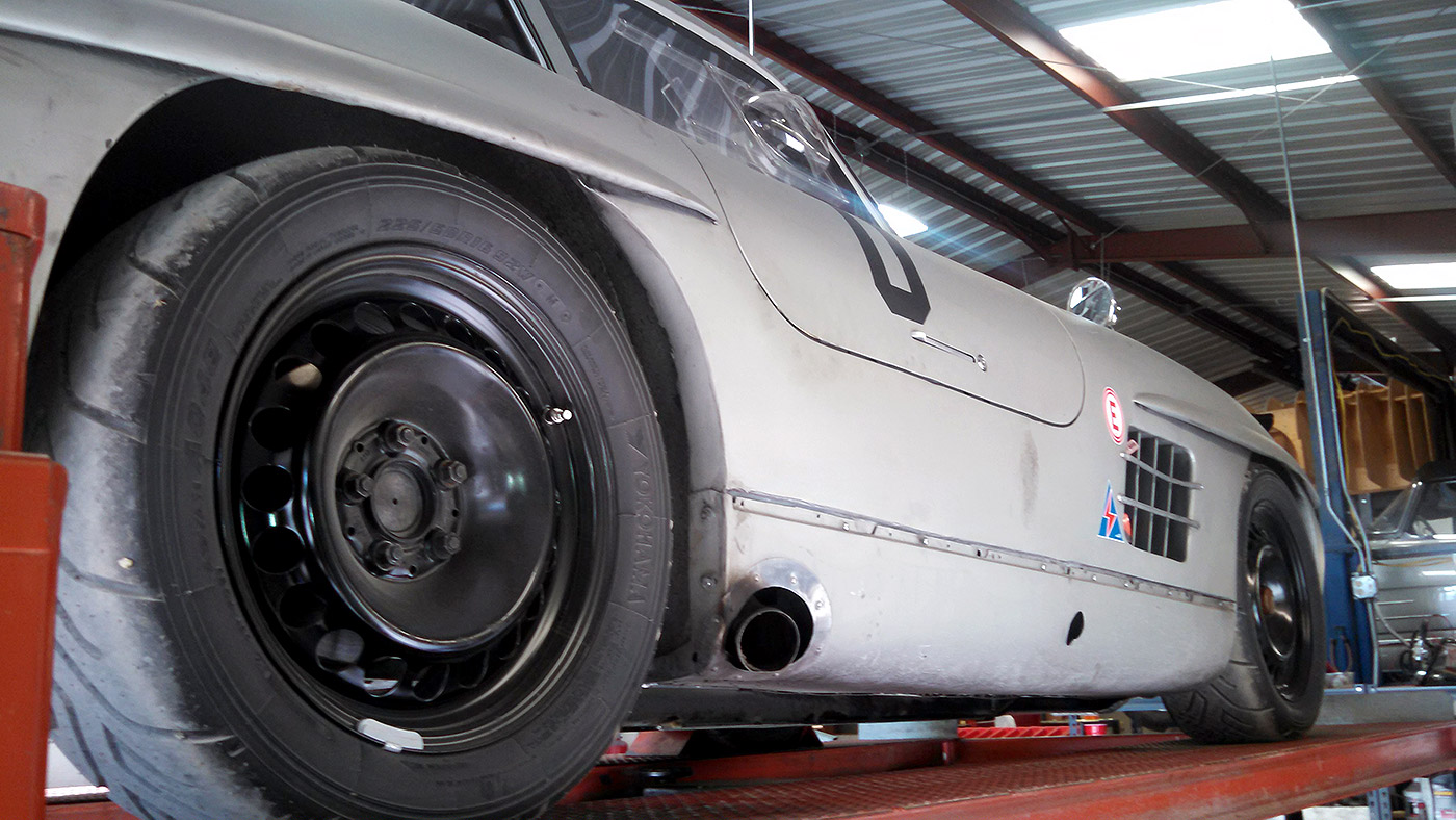 Hk Engineering Mercedes Benz 300sl Race Car Scott Grundfor Company Gullwing 03