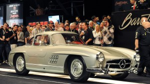 Clark Gable's 1955 Mercedes-Benz Gullwing