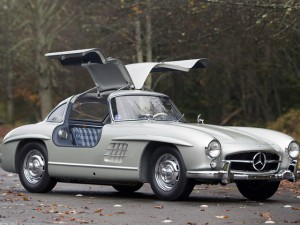 1955 Alloy 300SL Gullwing Wings