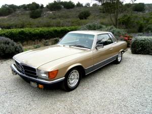 SOLD: 1981 Mercedes-Benz 500SLC (Homologation Coupe)