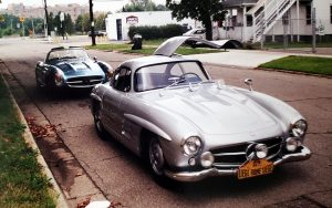 Prototype 300SLs – A Moment In Time By Scott Grundfor