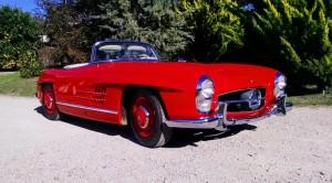 SOLD: 1963 Mercedes-Benz 300SL Alloy Block Disc Brake Roadster
