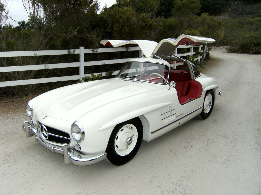 SOLD   1955 Mercedes Benz 300 SL Gullwing   Scott Grundfor Company    Classic Collectible Mercedes Benz Cars