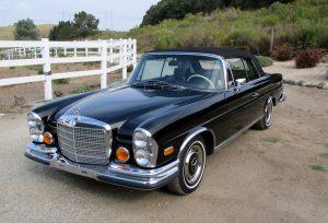 SOLD: 1971 Mercedes-Benz 280SE 3.5 Cabriolet