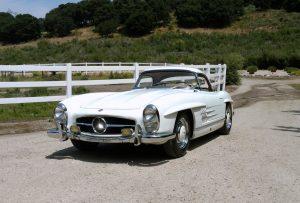 SOLD: 1963 Mercedes-Benz 300SL Aluminum Block Roadster