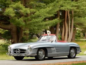 SOLD: 1962 Mercedes-Benz 300SL Disc Brake Roadster