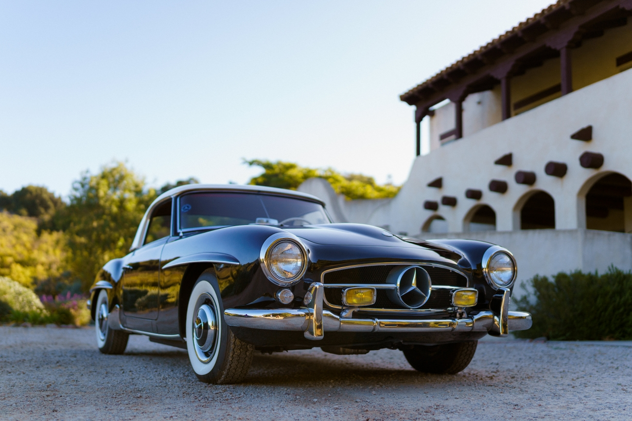 For Sale: 1961 Mercedes-Benz 190SL Coupe/Roadster