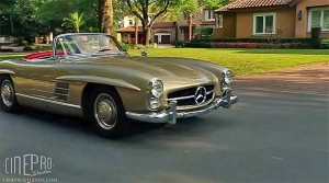 1963 Mercedes-Benz 300SL Roadster (Video)