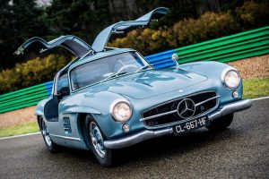 Paul Newman's 1954 Mercedes-Benz Gullwing
