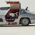 300SL Gullwing in the Salt Flats